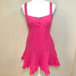 Bebe Magenta Summer Dress